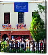 The Stonewall Inn National Monument Acrylic Print
