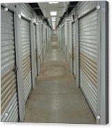 The Storage  Row Acrylic Print