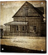 The Stories This House Holds Acrylic Print
