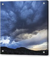 The Storm Above Acrylic Print
