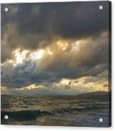 The Storm Comes Acrylic Print