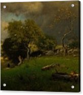 The Storm, George Inness Acrylic Print