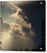 The Storm Looms II Acrylic Print