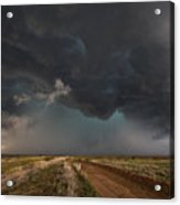 The Storm - Massive Thunderstorm Over Texas Panhandle Acrylic Print