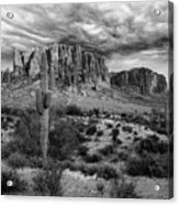 The Stormy Superstitions Acrylic Print