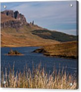 The Storr Acrylic Print