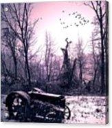 The Straggler...thurston Hollow Pa. Acrylic Print