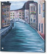 The Streets Of Italy Acrylic Print