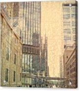 The Streets Of Minneapolis Acrylic Print