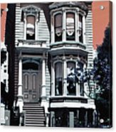 The Streets Of San Francisco Acrylic Print