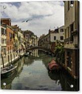 The Streets Of Venice Acrylic Print