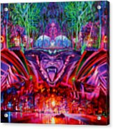 The String Cheese Incident-hulaween Acrylic Print