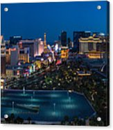 The Strip Las Vegas Acrylic Print