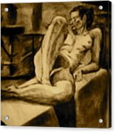 The Studio Acrylic Print