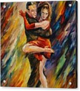 The Sublime Tango  Acrylic Print