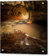 The Subway - Zion National Park Acrylic Print