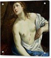 The Suicide Of Lucretia 1640 Acrylic Print
