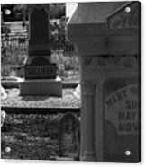 The Sullivan Burial Plot Acrylic Print