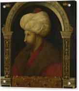 The Sultan Mehmet II Acrylic Print