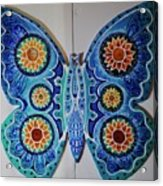 The Summer Butterfly Acrylic Print