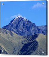 The Summit Of Mount Cotacachi Acrylic Print