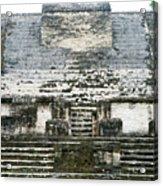 The Sun God Temple Acrylic Print