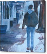 The Sun Peeks Out At 2nd Street Acrylic Print