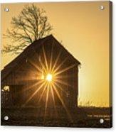 The Sun Rises Acrylic Print