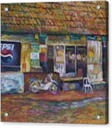 The Sundry Store At Fraiser's Hill Acrylic Print