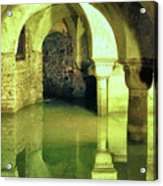 The Sunken Crypt Of San Zaccaria Acrylic Print