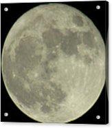 The Super Moon 3 Acrylic Print