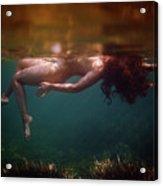 The Superior Mermaid Acrylic Print