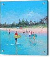The Surfers Acrylic Print