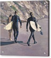 The Surfers Acrylic Print
