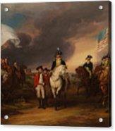 The Surrender Of Lord Cornwallis At Yorktown Acrylic Print