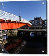 The Swing Bridge Acrylic Print