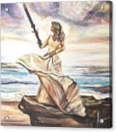 The Sword And The Bride Acrylic Print