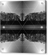 The Symmetry Of Light  Acrylic Print