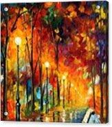 The Symphony Of Light Acrylic Print