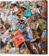 The Synergies Of Recycling Wastes And Intellects #3005 Acrylic Print