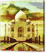 The Taj Mahal Acrylic Print
