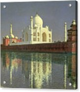 The Taj Mahal Acrylic Print by Vasili Vasilievich Vereshchagin