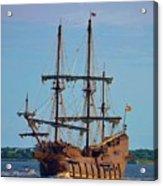 The Tall Ship El Galeon Acrylic Print