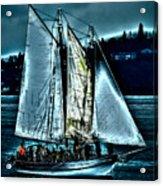 The Tall Ship Lavengro Acrylic Print