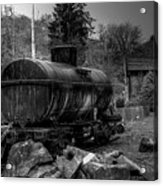 The Tanker Car Acrylic Print