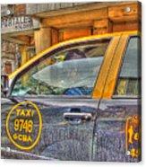 The Taxi Acrylic Print