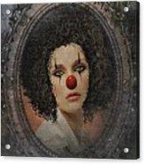 The Tearful Clown Acrylic Print