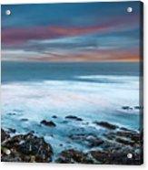 The Tempestuous Sea Acrylic Print