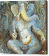 The Temple Of Love Ganesh Acrylic Print