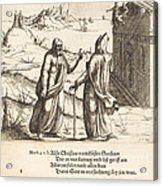 The Temptation Of Christ Acrylic Print